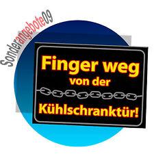 WARNUNG Lässt Du Kühlschrankmagnet  Sprüche Spruch Schilder Magnet ACHTUNG
