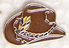 Hat Lapel Pin Tie Tac Western Cowboy Hat NEW