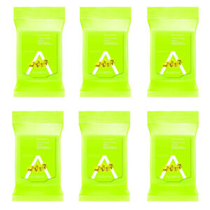 6-New Almay Clear Complexion Makeup Remover Cleansing Towelettes, Hypoallergenic