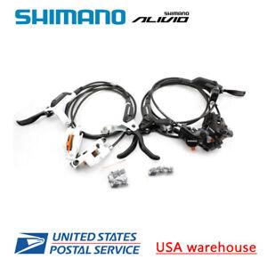Shimano-M395-frein-hydraulique-set-VTT-avant-et-arriere-BL-M395-BR-M395-396-OE