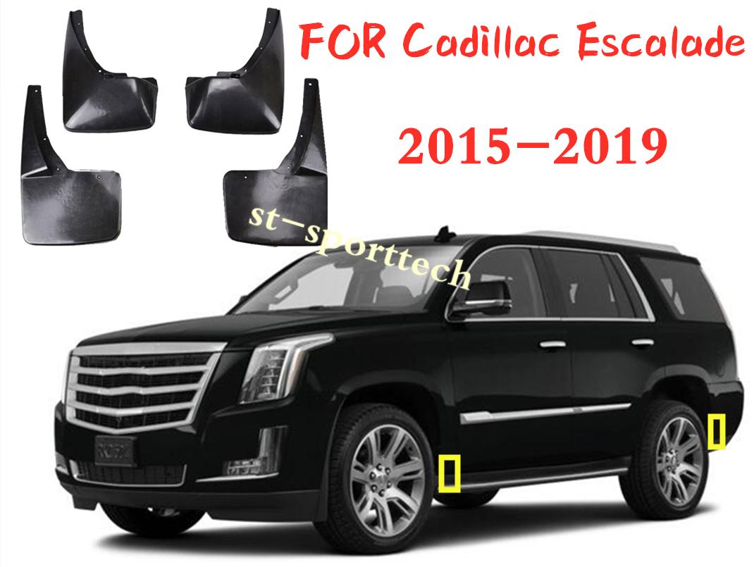 4pcs//set Mud Flap Flaps Splash Guards Mudguards  FIT FOR 2019 Cadillac XT4