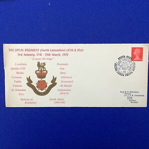 The-Loyal-Regiment-North-Lancashire-47th-amp-81st-1741-1970-Event-Cover