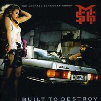 Michael Schenker - Built To Destroy [remastered] [bonus Tracks] [new Cd] Bonus T