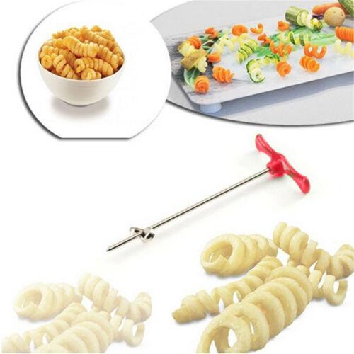 Rolle Spiralschneider Rettich Kartoffelwerkzeuge Gemüse Cutter Obst Carving ML