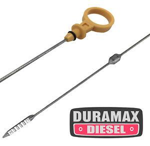Duramax Diesel Engine Oil Level Dipstick For GM Silverado//Sierra 2500//3500 HD 6.6 V8 Engine Oil Level Indicator US Stock