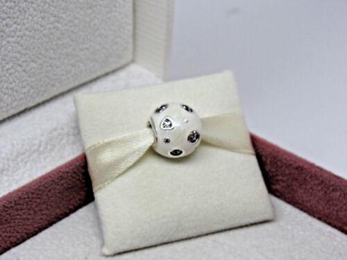 Avec boîte de Pandore perlé blanc rêves zircone cubique en émail Charm 797033EN23 no US Release