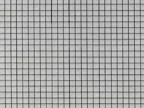 Piste h0 VOLLMER 46037 trottoir plaque en carton 25 x 12,5 cm