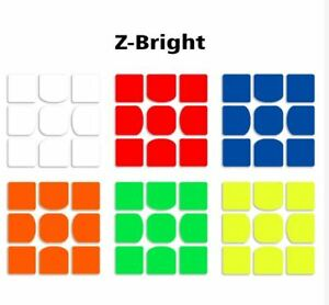 Z-Bright-Sticker-Replacement-for-WeiLong-GTS-Rubik-039-s-Cube