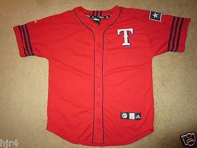 Baseball & Softball RüCksichtsvoll Ian Kinsler #5 Texas Rangers Mlb Adidas Trikot Jugendliche L L 14-16 Exquisite Traditionelle Stickkunst Fanartikel