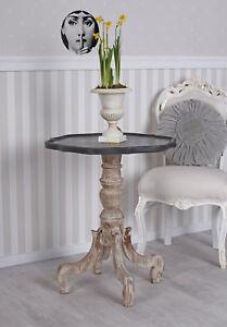 Details zu Florentiner Tisch Beistelltisch Antik Teetisch Wohnzimmertisch  Shabby Chic Table