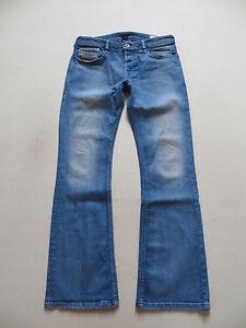 Diesel-ZATHAN-wash-008W7-Bootcut-Jeans-Hose-W-31-L-32-Vintage-Denim-Schlaghose