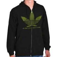 SIZE XXXLG POT LEAF HOODIE SWEAT SHIRT POUCH IN FRONT 3XL mens womens marijuana
