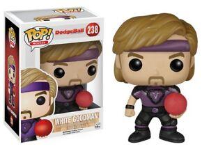 White Goodman Ben Stiller Dodgeball POP! Movies #238 Vinyl Figur Funko