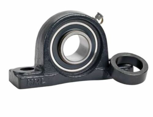 Qty. 2 KML HCAK206-20 Pillow Block Low Base Eccentric Collar Locking