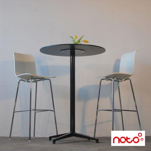 2er Set Vitra Hal stool High tabourets de bar-Tabouret-Blanc-D' occasion design mobilier