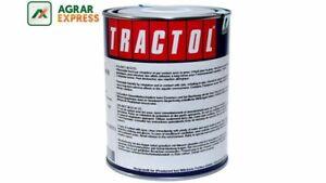 Tractol Ral 3020 Verkehrsrot, 1 Liter Kunstharzlack Traktorlack Schlepperlack Art De La Broderie Traditionnelle Exquise