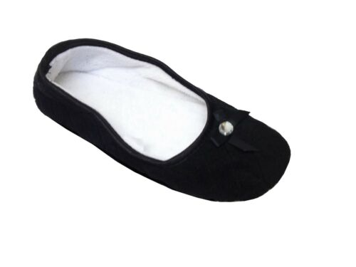 New Ladies Womens Casual Slippers Slip On Soft Warm Cosy Indoors Shoes Size UK
