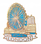 City of London  River Thames /& London Eye Pin Badge