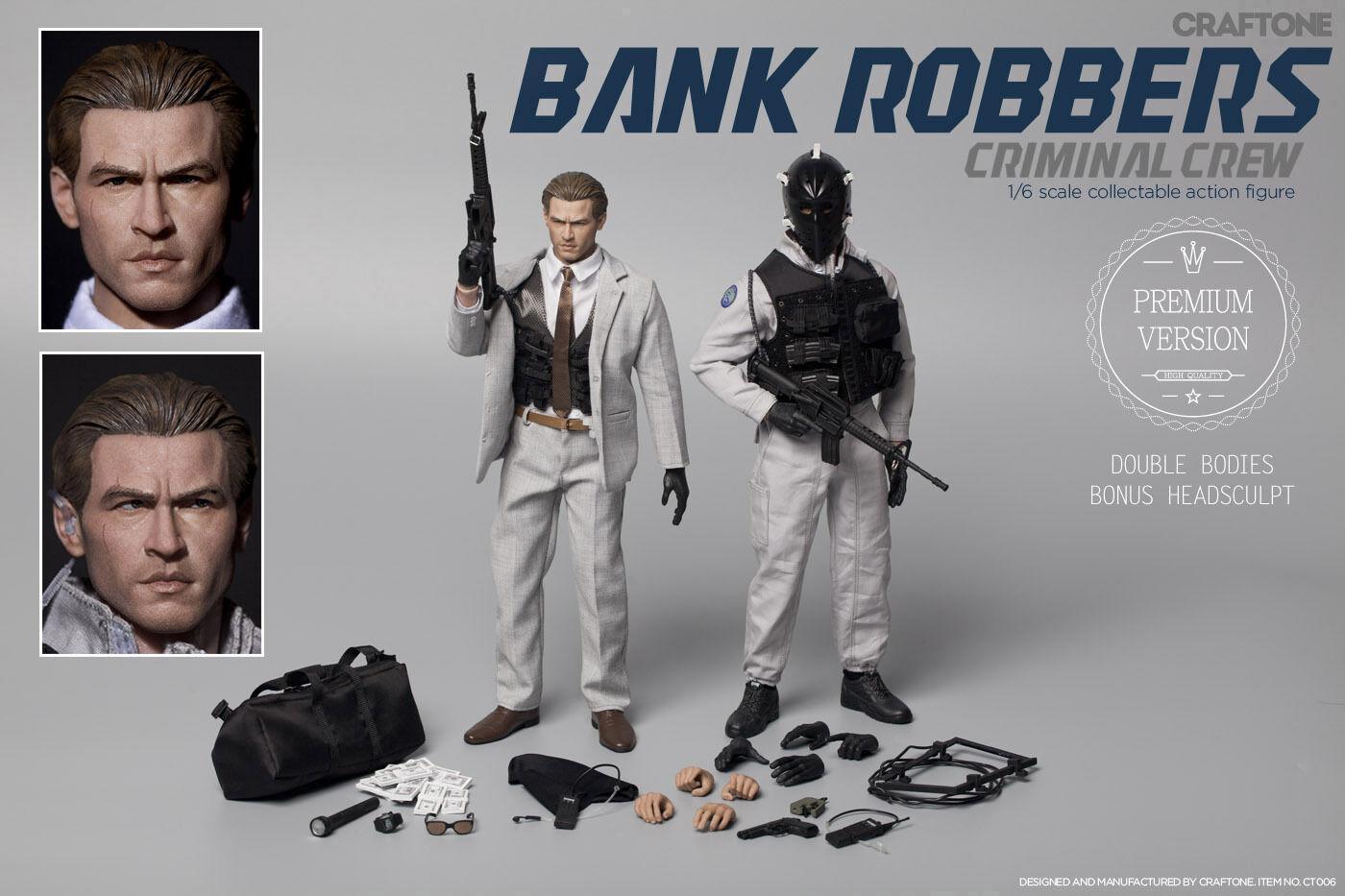 CRAFTONE Bank Robbers - Criminal Crew Val Kilmer Premium Ver 1/6 Figure