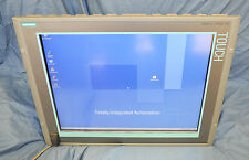 "Siemens Simatic IPC477C 6AV7424-0AA00 19"" Touch Screen HMI Interface Panel PC!"