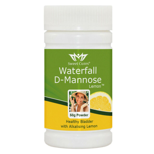 NEW Waterfall D-Mannose with Lemon | Great Tasting & Alkalsiing