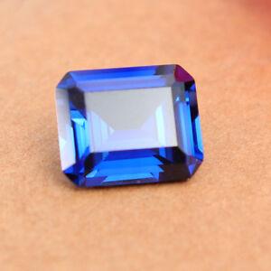 Rich-Royal-Blue-Sapphire-8-32cts-VS-10x12mm-Emerald-Cut-Shape-Loose-Gemstone