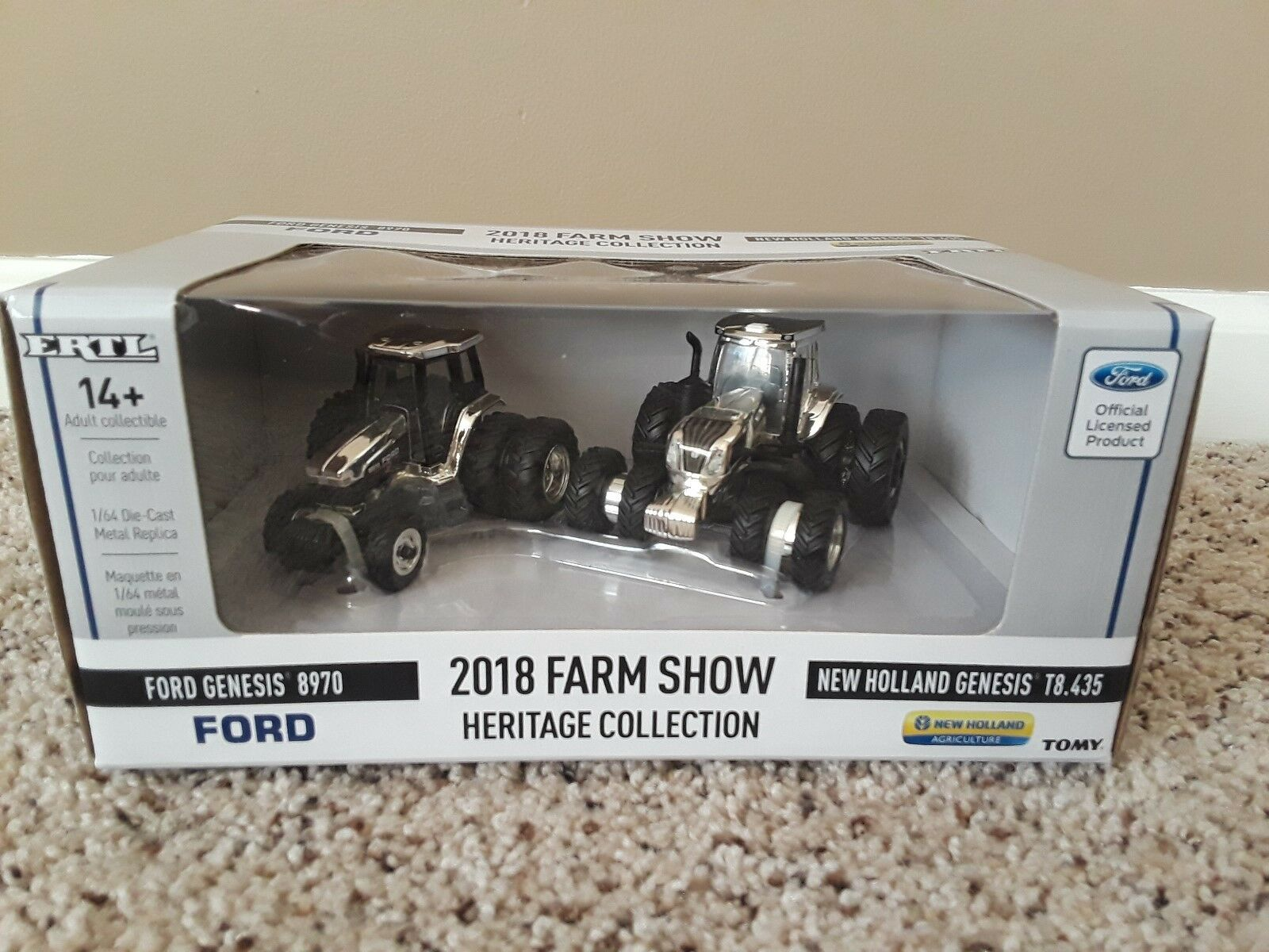 2018 Farm Show Heritage Collection 1 64 Ford 8970 and NH T8.435