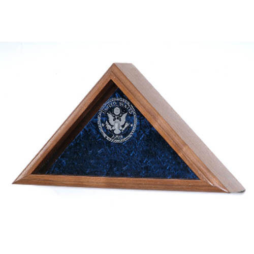 US Air Force Flag Display Case Hand Made By Veterans