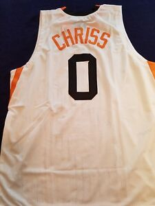 Image is loading Marquese-Chriss-Custom-White-Phoenix-Suns-Jersey-Size- fa25d3529
