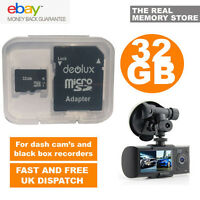 32GB TF Flash Micro SD SDHC Class10 Memory Card for Dual Lens Dash Cam BLACKBOX