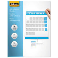 Fellowes Self-laminating Sheets 3mil 12 X 9 1/4 50/box 5221502 on sale