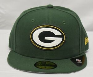 New-Era-59Fifty-Mens-NFL-Green-Bay-Packers-Hat-Cap-NWT-7-7-1-4-7-3-8