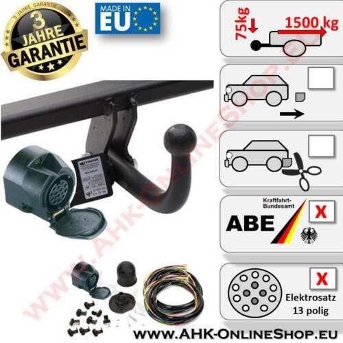 E-Satz 13 polig Dacia Duster ab 2013 Anhängerkupplung Komplett AHZV Neu AHK
