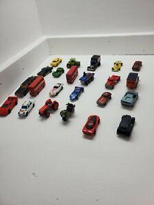 LOTTO-di-23-Vintage-Auto-veicoli-vecchi-Majorette-Ferrari-F40-PLAYART-JEEP-ECC