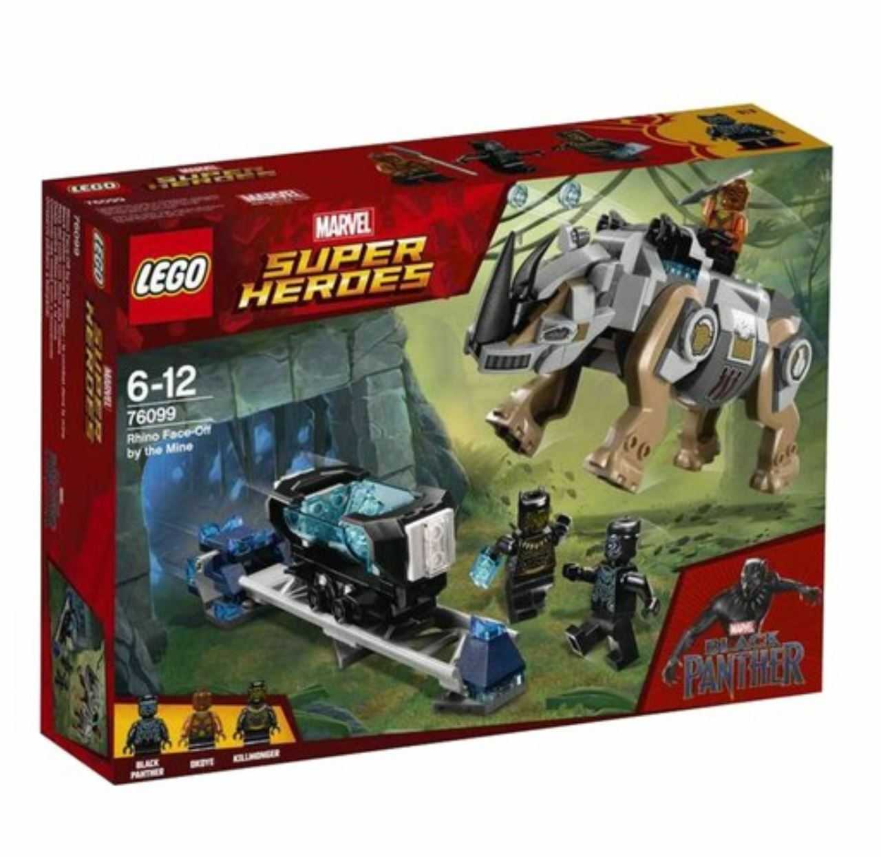 [LEGO] Rhino Face-Off by the Mine Mine Mine 76099 2018 Version Free Shipping 8ef176