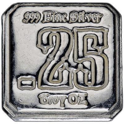 Suns Of Liberty 1//4 oz .999 Silver Square Round USA Bullion Bar AMERICAN AG-47