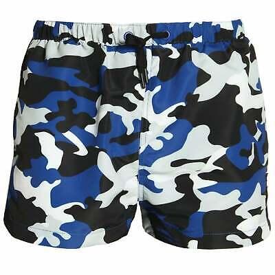 swimmers trunks SALE beach shorts Ellesse Viale Shorts in Camo Blue