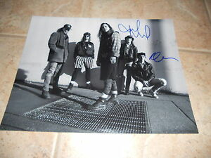 Pearl Jam Band Signed Autographed 11x14 Guitar Photo #2 x Mike & Dave F3