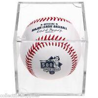 David Ortiz 500 Home Runs Commemorative Boston Red Sox Mlb Baseball In Cube