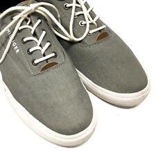 7dfcbbac1 item 1 TOMMY HILFIGER Men s Shoes Beige Canvas Sneakers Low Top Lace Up  Size 10.5 -TOMMY HILFIGER Men s Shoes Beige Canvas Sneakers Low Top Lace Up  Size ...