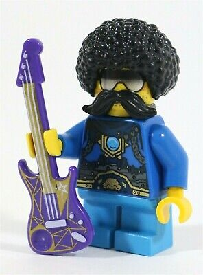 LEGO NINJAGO ELEMENTAL MASTER CHAMILLE MINIFIGURE FORM MADE OF GENUINE LEGO
