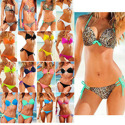 SEXY Girl/Lady Bikini SET Push-up Padded Top Swimsuit Bathing Suit Swimwear