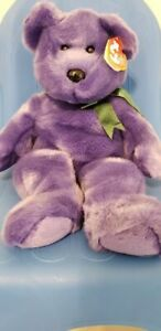 Ty Beanie Babies Buddy Employee Bear MWMT