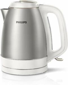 Philips-Wasserkocher-HD9305-20-aus-Edelstahl-2200-W-1-5-L-abnehmbarer-Deckel