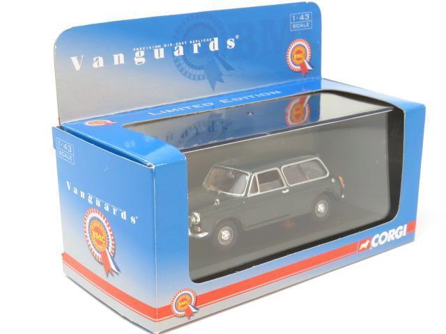 Corgi Vanguards VA04802 Morris 1300 Estate Connaught Green 1 43 Scale Boxed