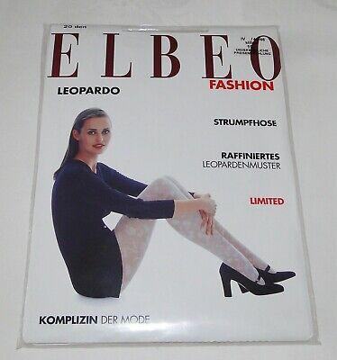 Elbeo Fashion Leopardo With A Long Standing Reputation Strumpfhose 20 Den Gr Iv 44/46 Silber Neu