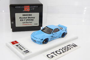 Make-Up-1-43-scale-Rocket-Bunny-Mazda-RX-7-FD3S-Light-Blue-Pearl-RB003B2-MakeUp