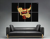 Chicago Bulls Nba Swag Wall Art Poster Grand Format A0 Large Print