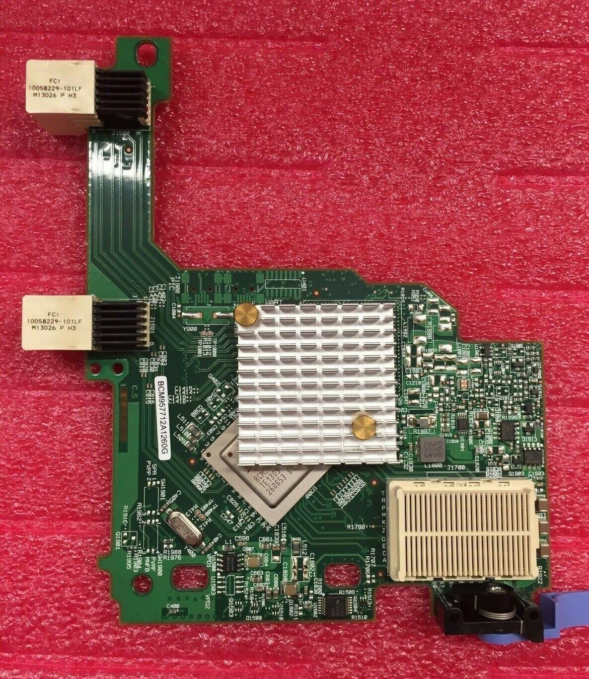 IBM 90Y9336 90Y9337 Broadcom 2 Port 10Gb Ethernet Expansion Card