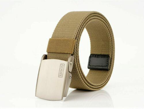 "47/"" ENNIU Thick Nylon Belt Leiuure Outdoor Tactical Belt Zine Alloy Buckle Belt"